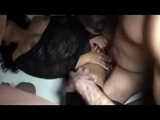 Slut wife and her bisexual husband. they loves my big dick.