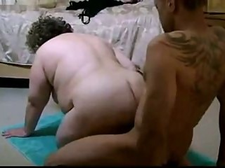 HOT FUCK #164 Married Mature BBW vs. a Black Guy