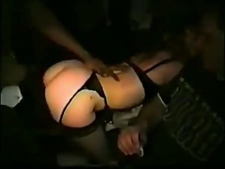 Wife does dogging party with BBC